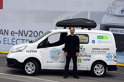 All-electric Nissan e-NV200 goes on tour driving 10,000 km across Europe's most beautiful vistas